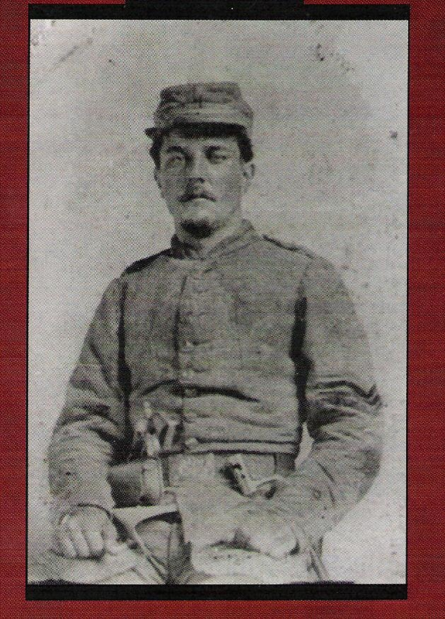 Captain Trasimond Landry, Co. H 4th La.
